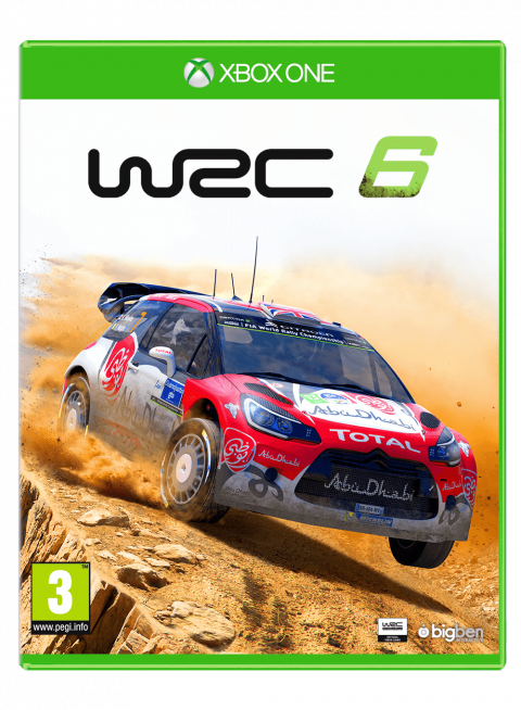 wrc 6 sur xbox one. Black Bedroom Furniture Sets. Home Design Ideas