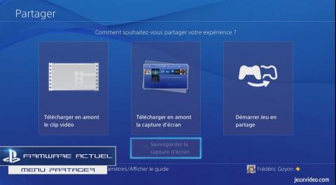 Coup d'oeil sur le firmware 4.00 de la PS4