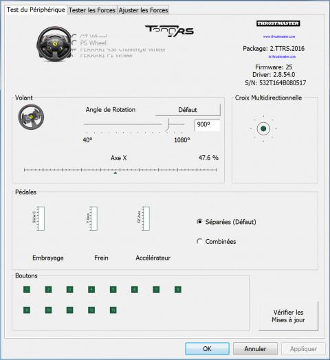Test du volant Thrustmaster T300RS : Le bond technologique