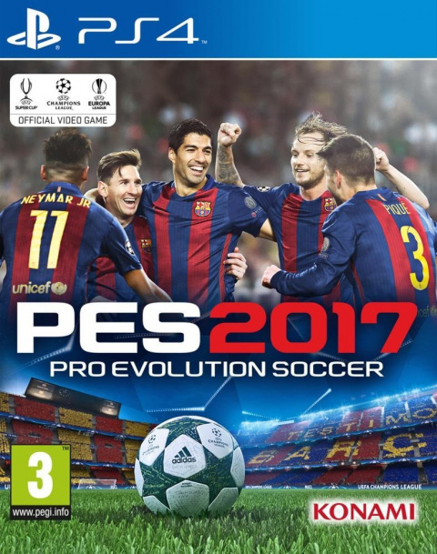 pro evolution soccer 2017 sur playstation 4. Black Bedroom Furniture Sets. Home Design Ideas