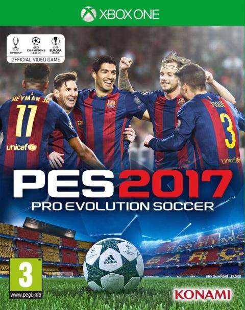 Pro Evolution Soccer 2017 sur ONE
