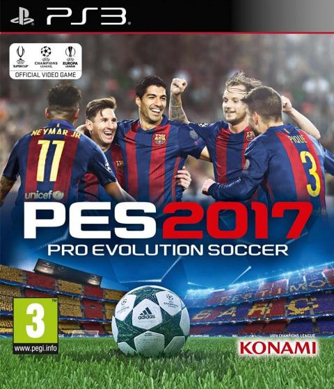 Pro Evolution Soccer 2017 sur PS3