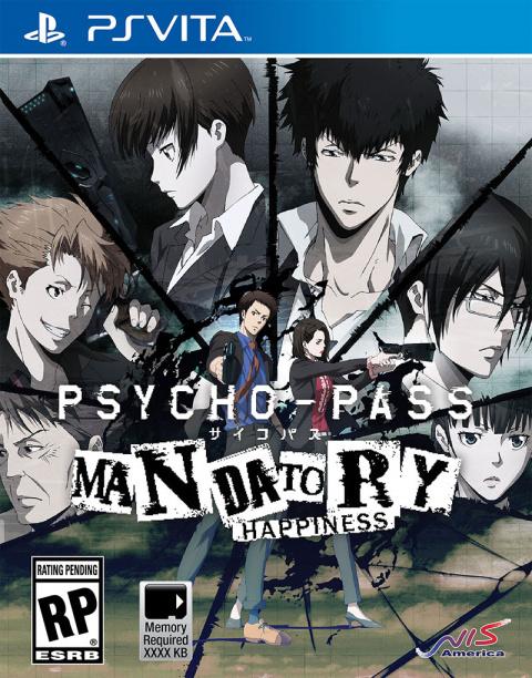 Psycho-Pass: Mandatory Happiness sur Vita