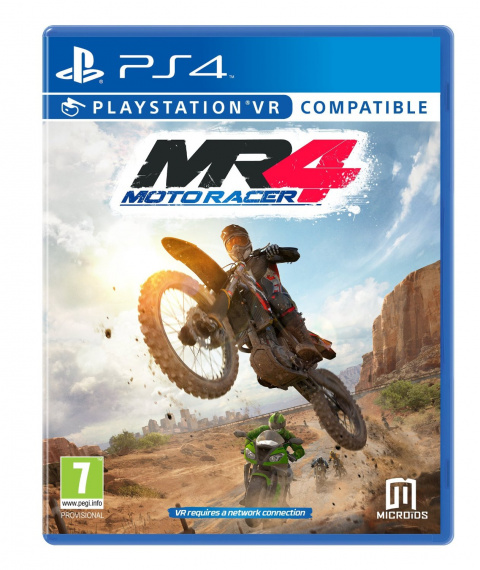 Moto Racer 4 sur PS4