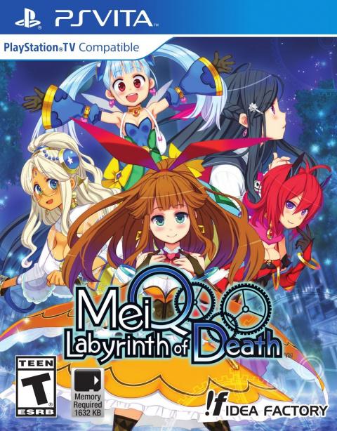 MeiQ : Labyrinth Of Death sur Vita