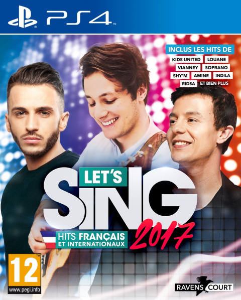 Let's Sing 2017 : Hits Français et Internationaux sur PS4