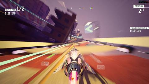 Redout : Le fils spirituel de WipEout sur PC, PS4 et Xbox One ?