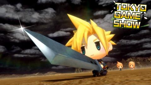 TGS : World of Final Fantasy : Un vrai RPG de capture, léger et rafraîchissant ?