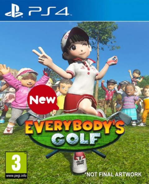 New Everybody's Golf sur PS4