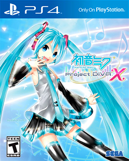 Hatsune Miku : Project Diva  X sur PS4