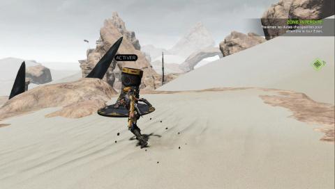 Dunes changeantes