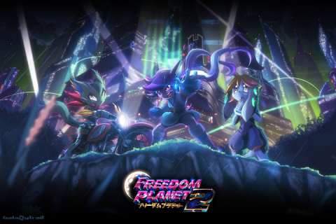 Freedom Planet 2 sur WiiU