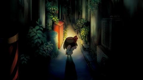 Jaquette de Yomawari Night Alone - la flippe, c'est chic sur Vita