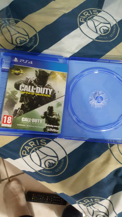 130 Go requis pour Infinite Warfare et Modern Warfare Remastered