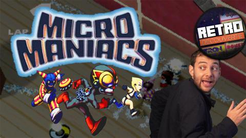 Retro Découverte : Micro Maniacs, quand les voitures deviennent des personnages