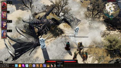 Le dragon purgé