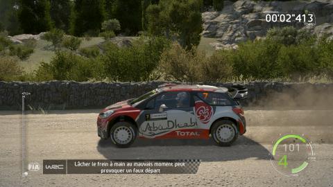 WRC 6, le mauvais virage