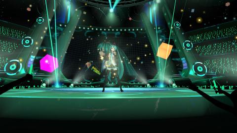Hatsune Miku : démo et une date pour le 2nd stage pour VR Future Live et un patch pour Diva X