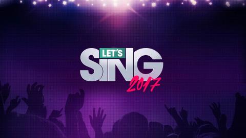 Jaquette de Let's Sing 2017 : Hits Français et Internationaux – Davantage un karaoké qu'un jeu vidéo