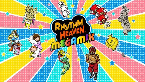 Jaquette de Rhythm Paradise Megamix : Mini-jeux et franche rigolade sur 3DS