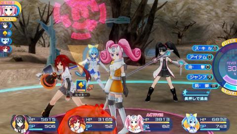 Superdimension Neptune VS Sega Hard Girls, guerre civile chez Sega