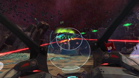 Super Stardust Ultra VR : Le shoot'em Up se recycle en réalité virtuelle
