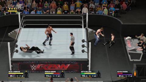 WWE 2K17 : Une édition qui finit dans les cordes