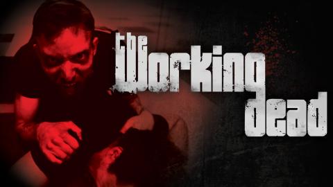 Jaquette de The Working Dead : l'horreur et les zombies s'emparent de Paris !