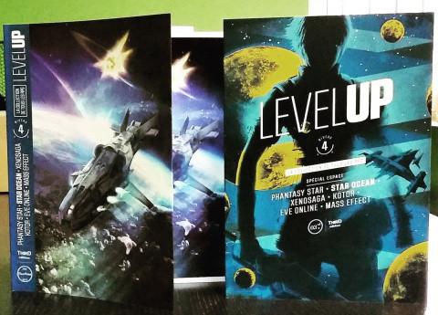Jaquette de Level Up passe au niveau 4 chez Third Editions