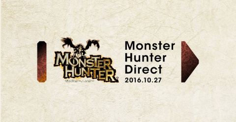 Un Nintendo Direct sera dédié à Monster Hunter le 27 octobre 2016