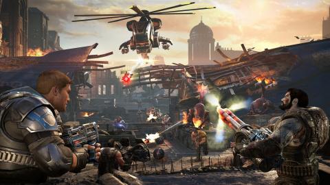 Xbox One : Gears of War 4 gratuit ce week-end pour les membres Gold