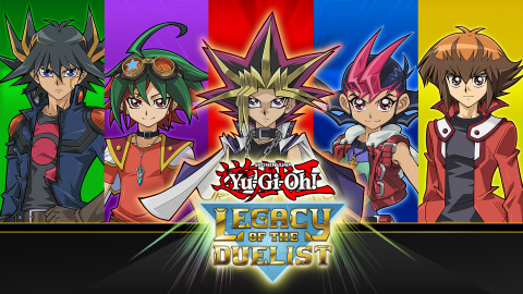 Yu-Gi-Oh! Legacy of the Duelist sur PS4