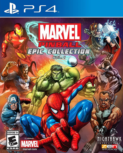 Marvel Pinball Epic Collection sur PS4