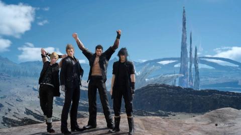 Jaquette de PGW 2016 : Final Fantasy XV est gold !