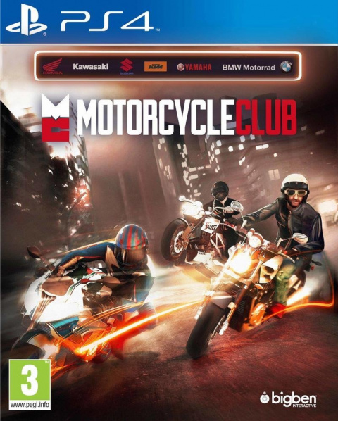 Motorcycle Club sur PS4