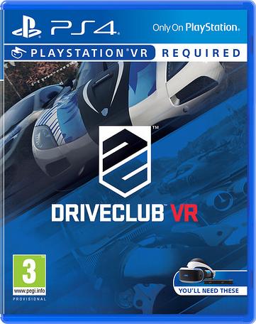 DRIVECLUB VR sur PS4