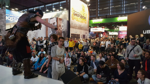 Paris Games Week 2016 : les photos du jour