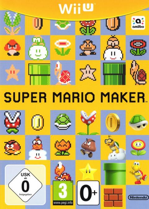 Jaquette de Super Mario Maker