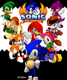 Sonic the Fighters sur PS3