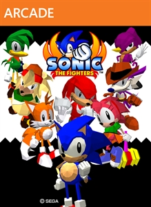 Sonic the Fighters sur 360