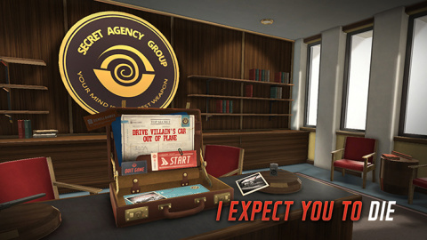 I Expect You To Die sur PS4