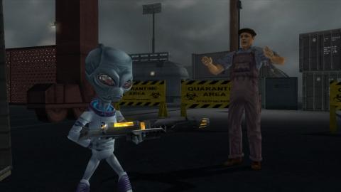 Destroy All Humans Remastered disponible sur PS4