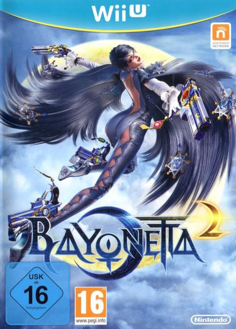 Jaquette de Bayonetta 2