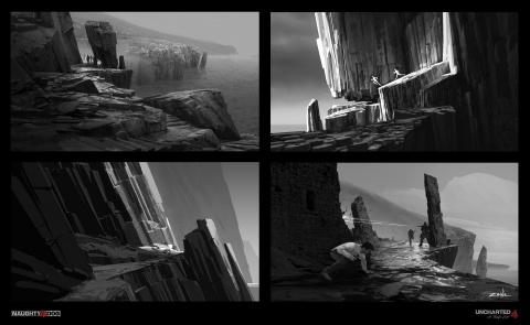 Uncharted 4 : de magnifiques artworks font surface