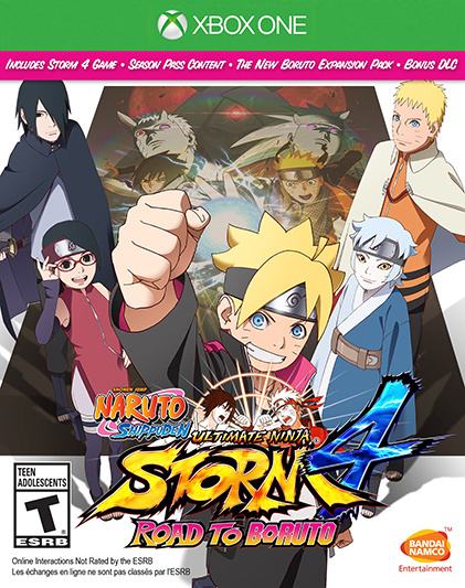 Naruto Shippuden Ultimate Ninja Storm 4 : Road to Boruto sur ONE
