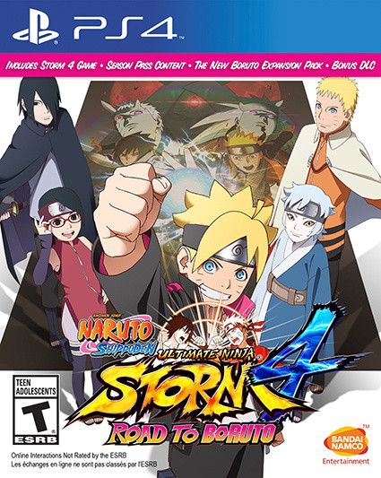 Naruto Shippuden Ultimate Ninja Storm 4 : Road to Boruto sur PS4