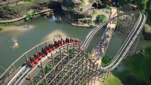Planet Coaster nous livre une nouvelle série de captures d'écran