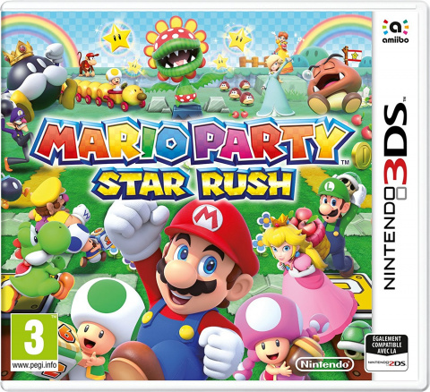 Mario Party : Star Rush sur 3DS