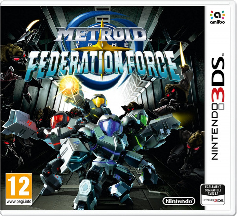 Metroid Prime Federation Force sur 3DS