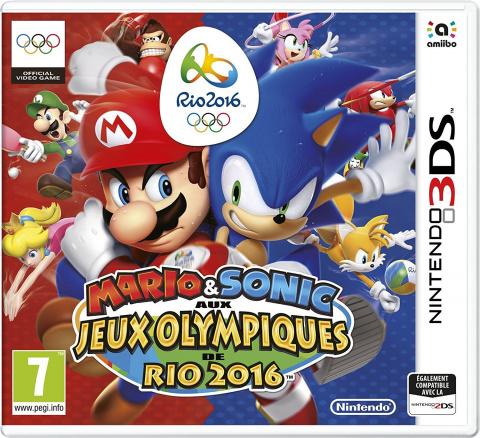 Mario & Sonic aux Jeux Olympiques de Rio 2016 sur 3DS